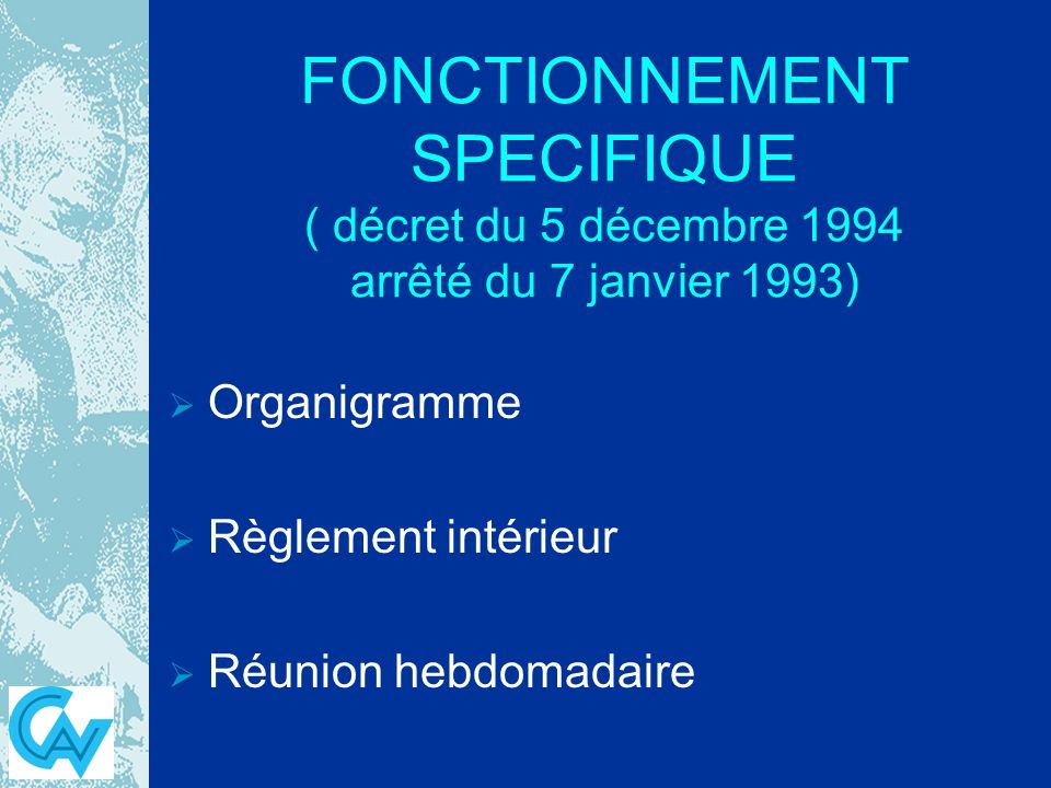 Organisation d un bloc operatoire ppt video online for Definition du reglement interieur