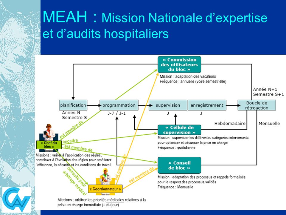 MEAH : Mission Nationale d'expertise et d'audits hospitaliers
