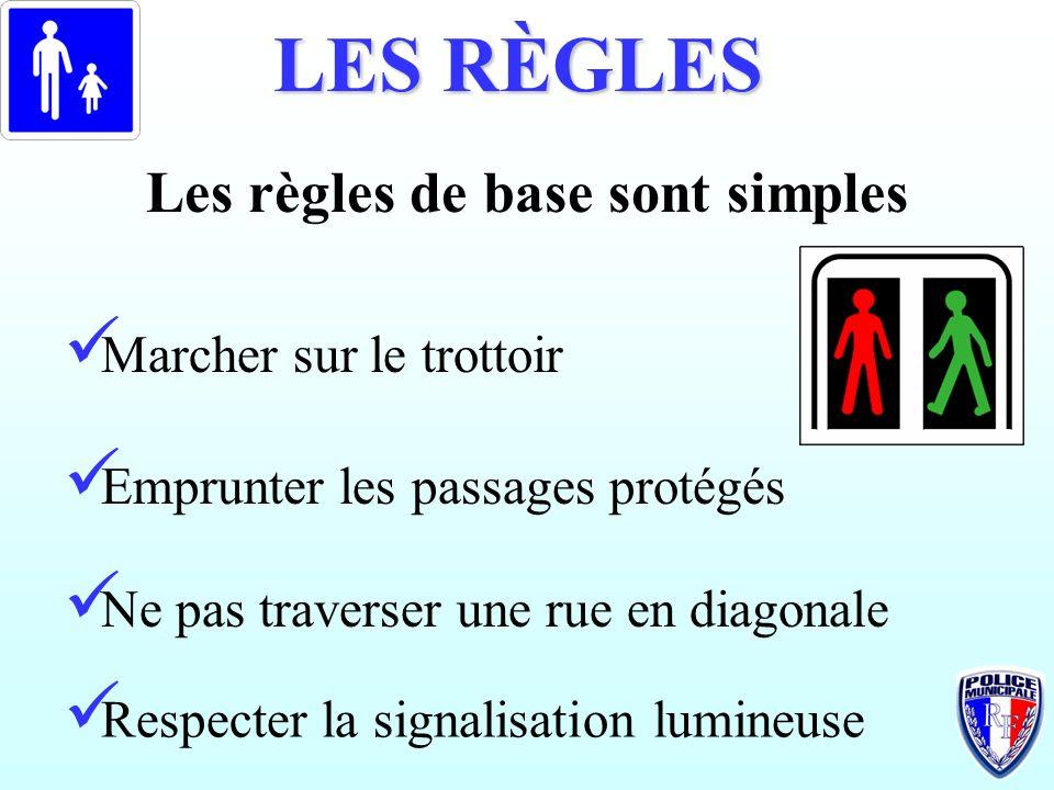 Les règles de base sont simples
