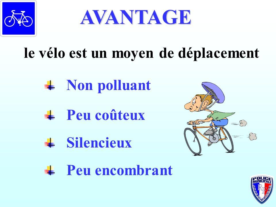 le vélo est un moyen de déplacement