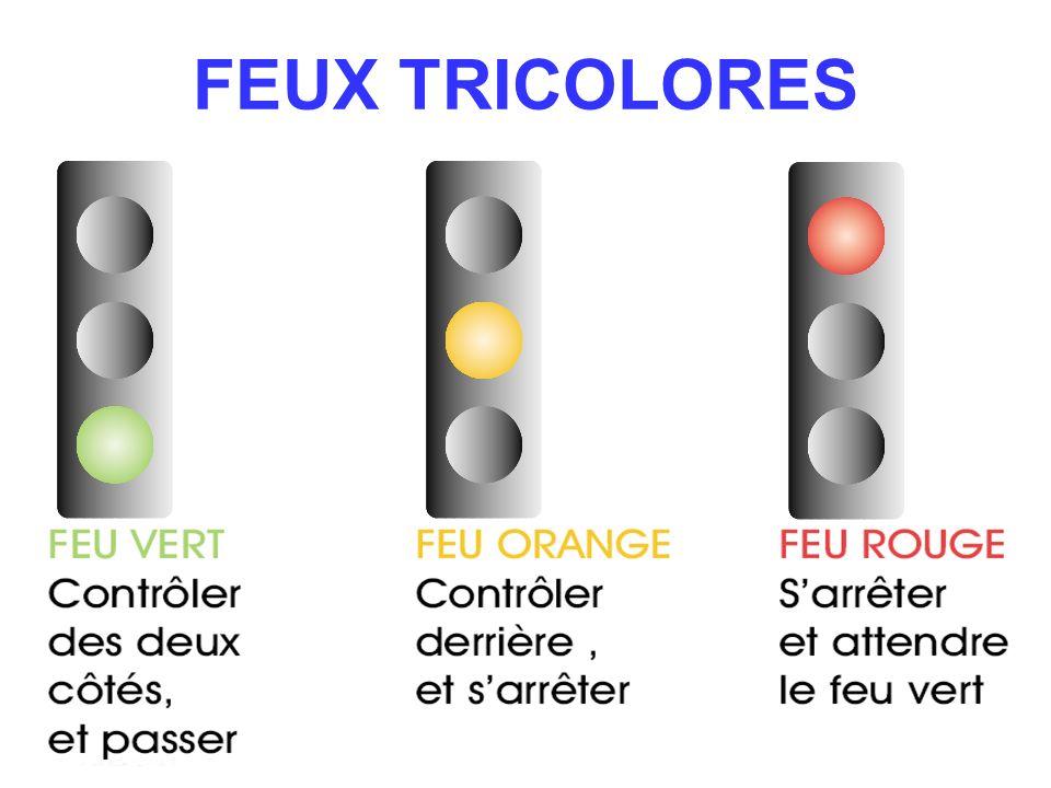 FEUX TRICOLORES