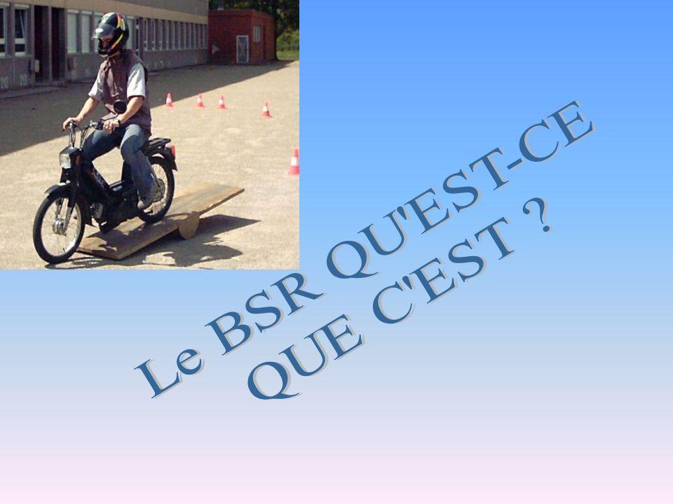 Le BSR QU EST-CE QUE C EST