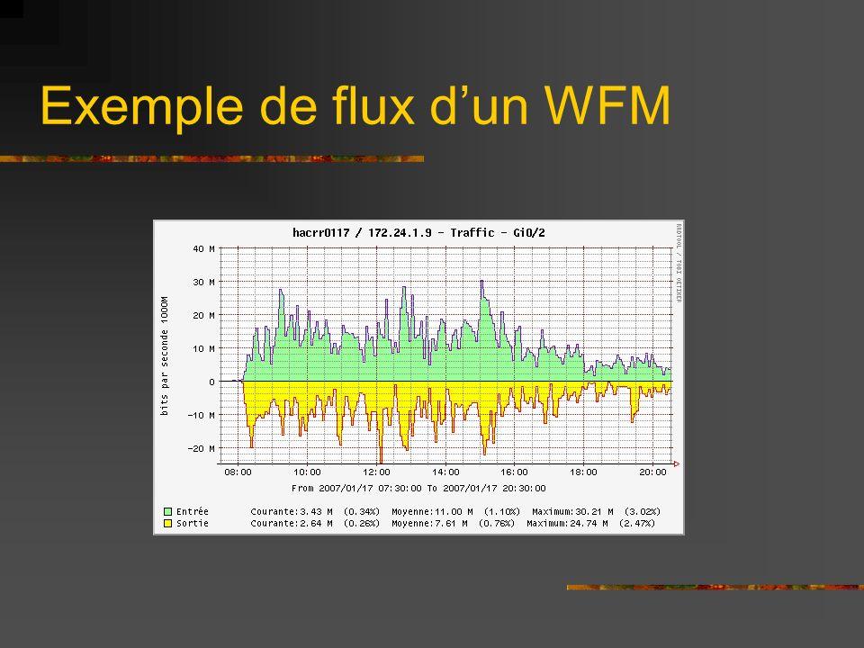 Exemple de flux d'un WFM