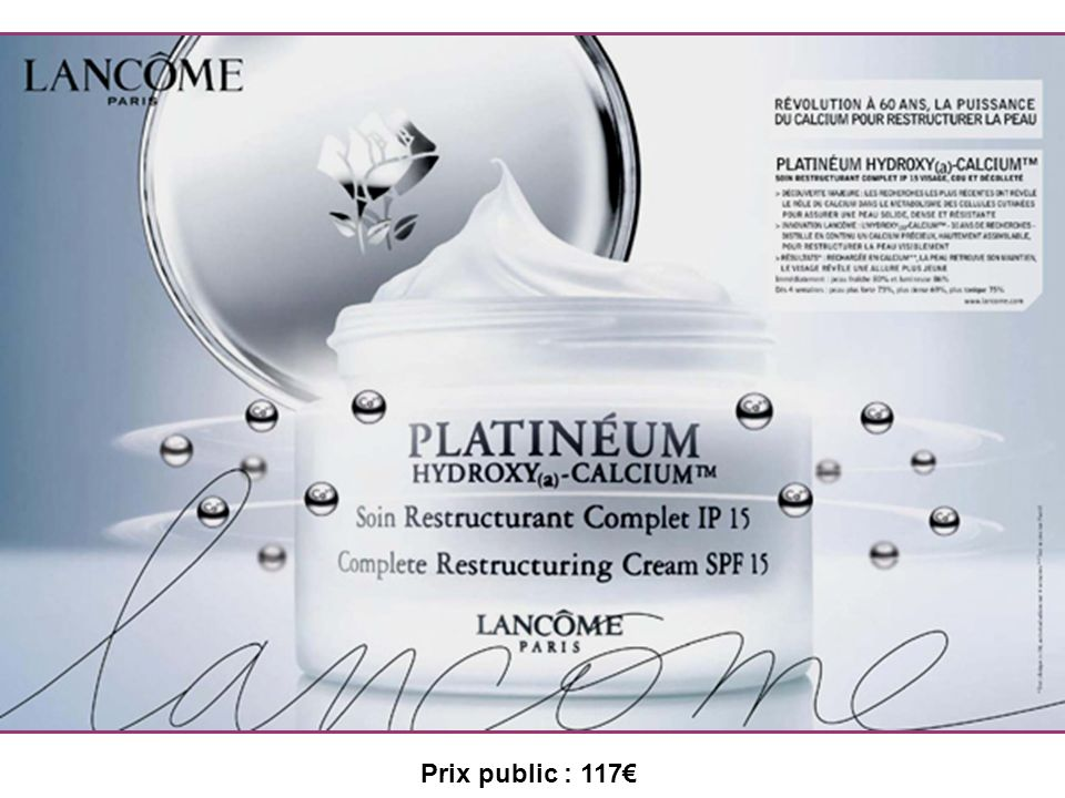 Prix public : 117€