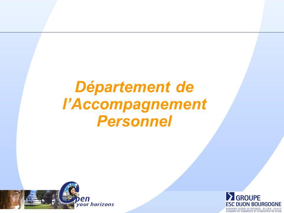 Département de l'Accompagnement Personnel