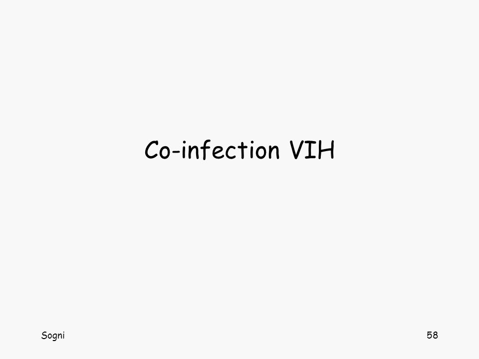 Co-infection VIH Sogni