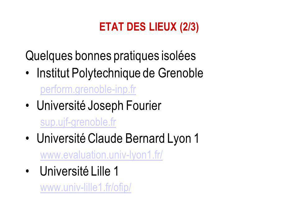 Quelques bonnes pratiques isolées Institut Polytechnique de Grenoble