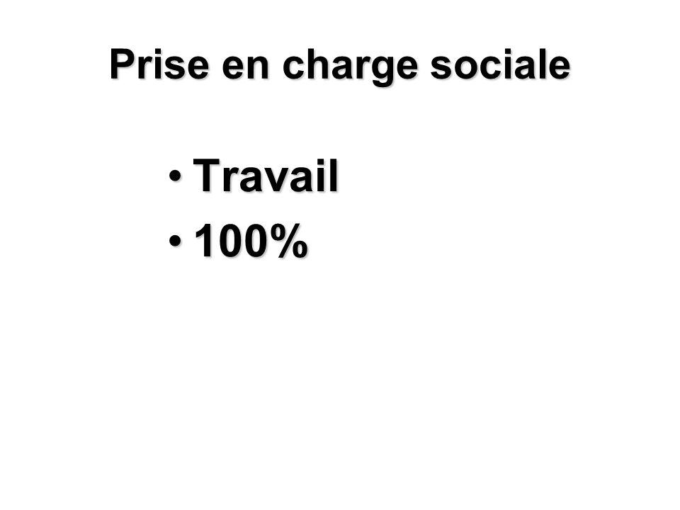 Prise en charge sociale