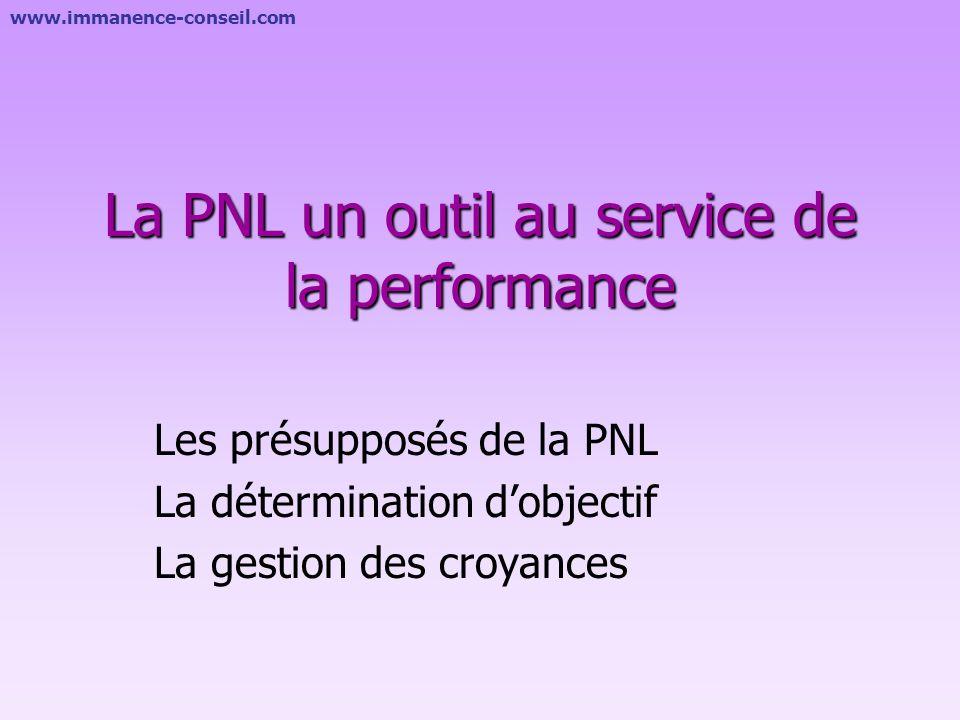 La PNL un outil au service de la performance