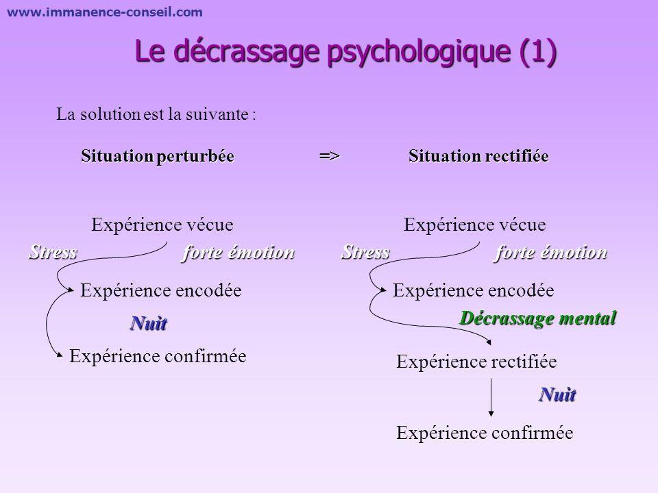 Le décrassage psychologique (1)