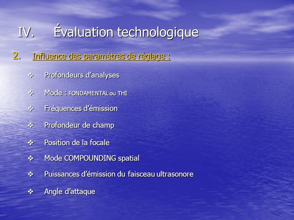 Évaluation technologique