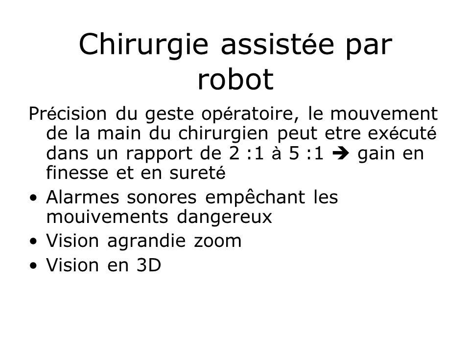Chirurgie assistée par robot