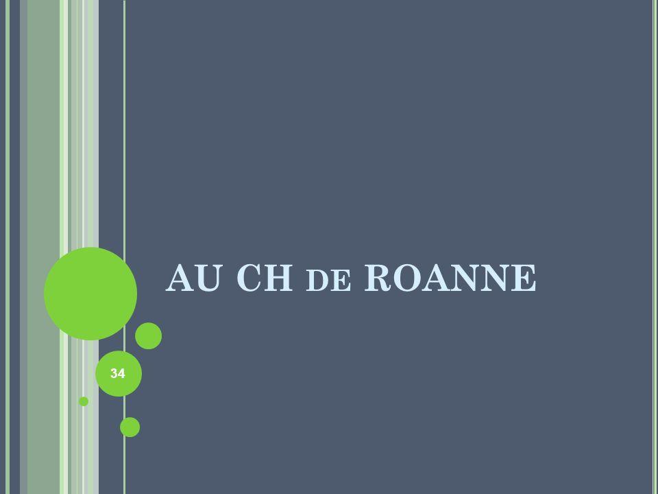AU CH de ROANNE
