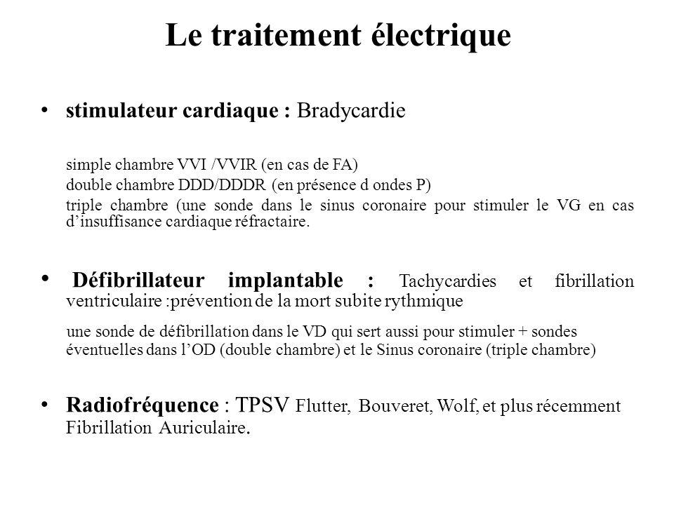 Le traitement électrique