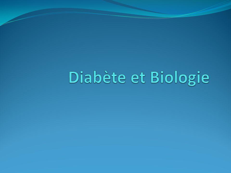 Diabète et Biologie