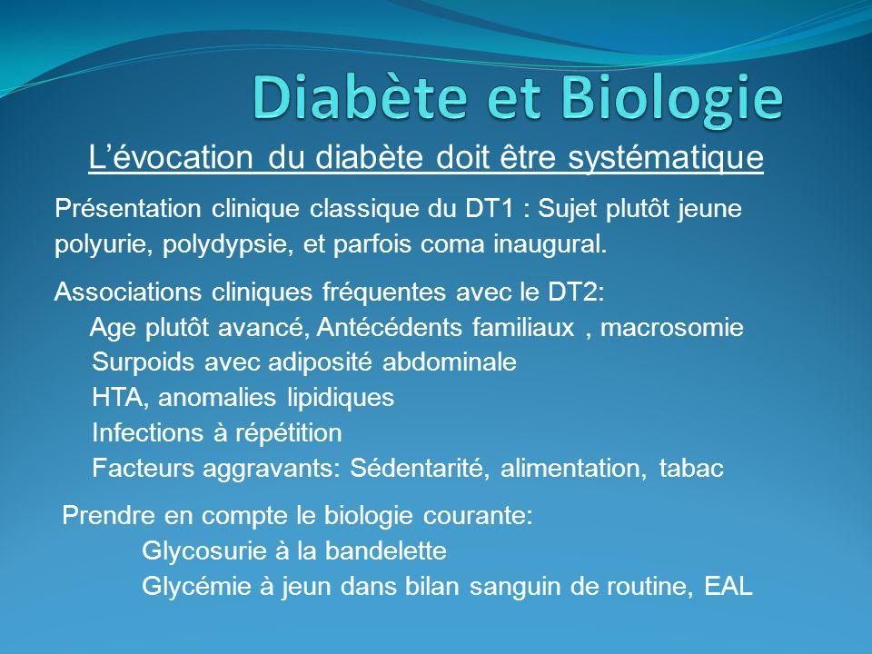 L'évocation du diabète doit être systématique