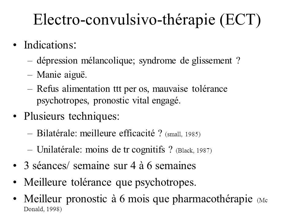 Electro-convulsivo-thérapie (ECT)
