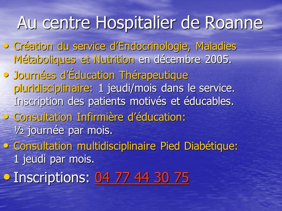Au centre Hospitalier de Roanne