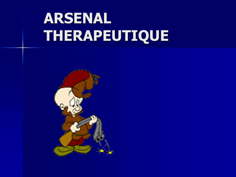 ARSENAL THERAPEUTIQUE