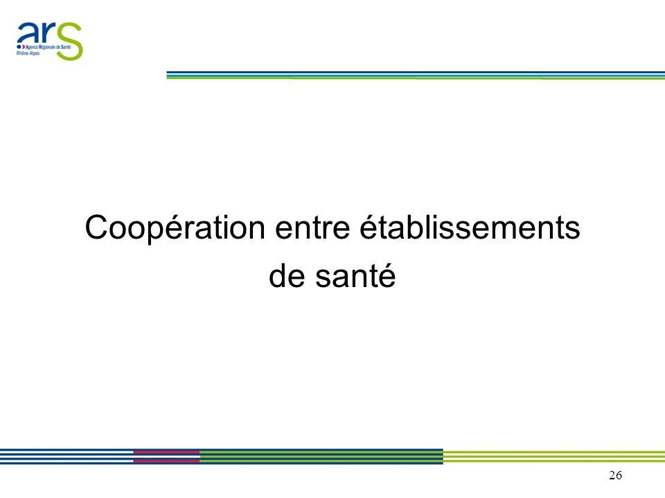 Coopération entre établissements