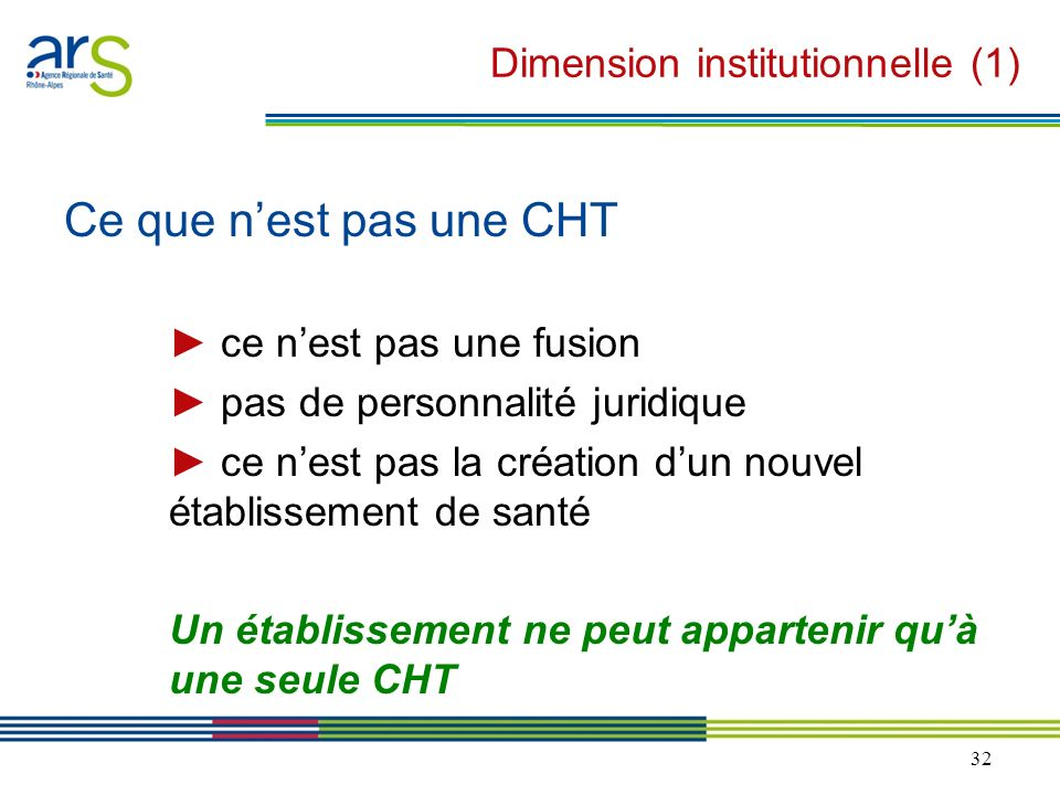 Dimension institutionnelle (1)