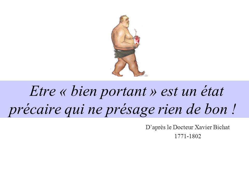 D'après le Docteur Xavier Bichat 1771-1802