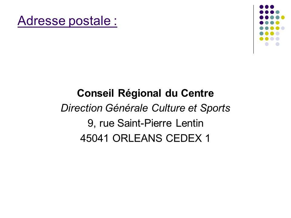 Conseil Régional du Centre