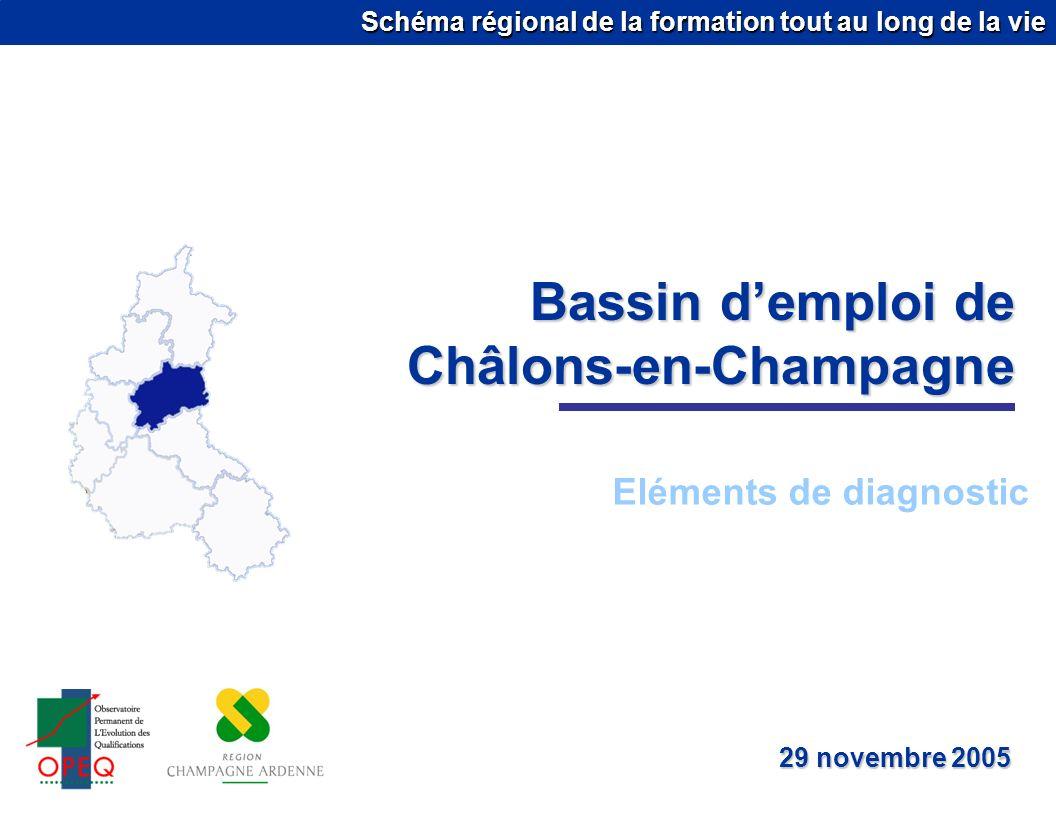 Bassin d'emploi de Châlons-en-Champagne