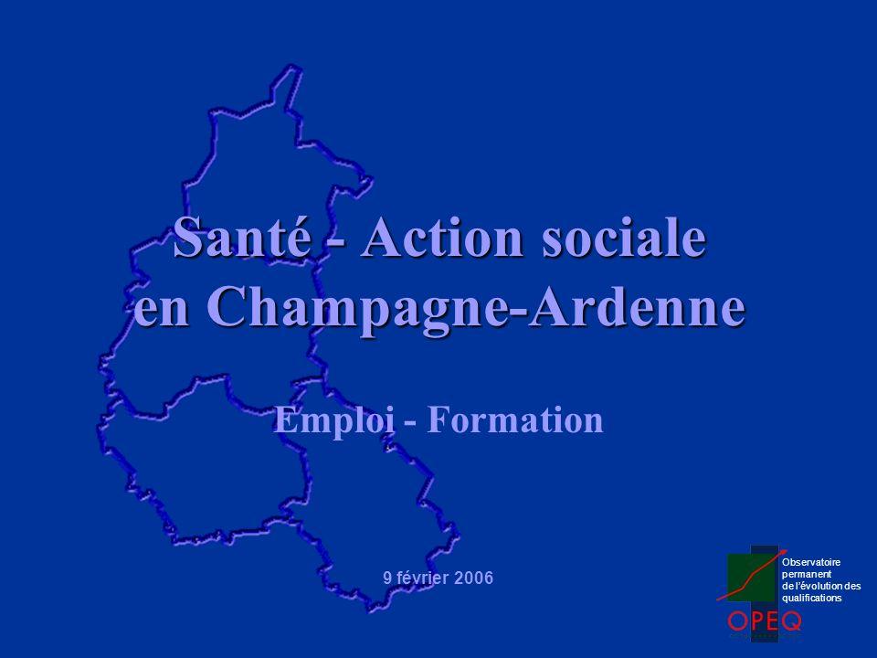 Santé - Action sociale en Champagne-Ardenne