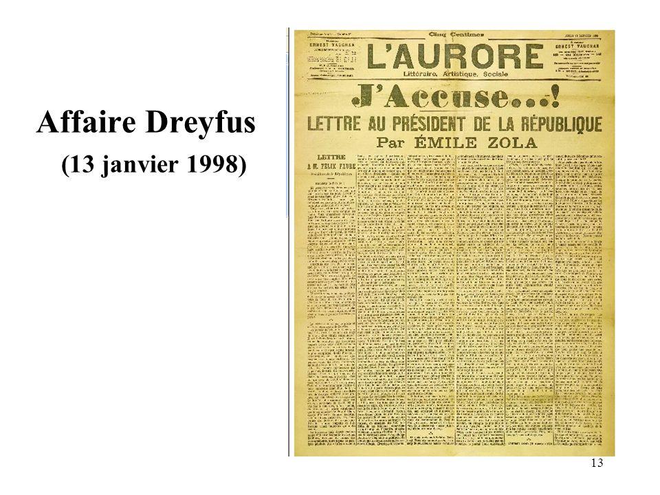 Affaire Dreyfus (13 janvier 1998)