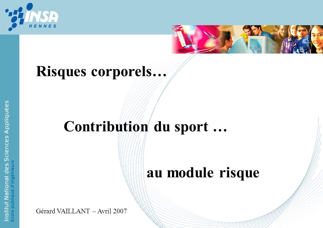 Contribution du sport …