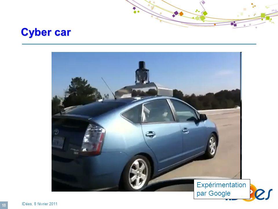 Cyber car Expérimentation par Google