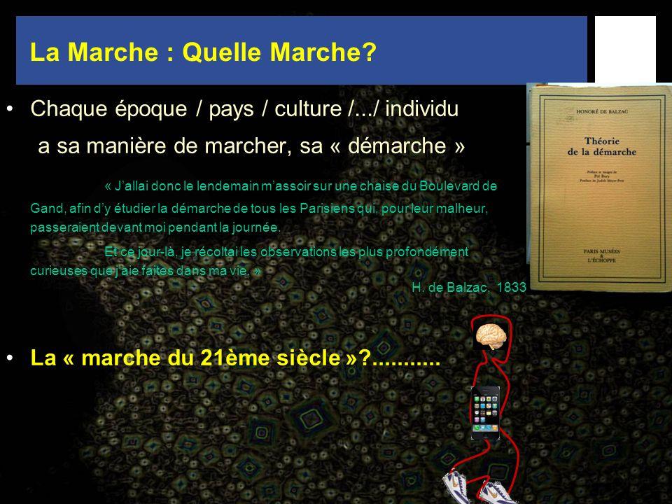 La Marche : Quelle Marche