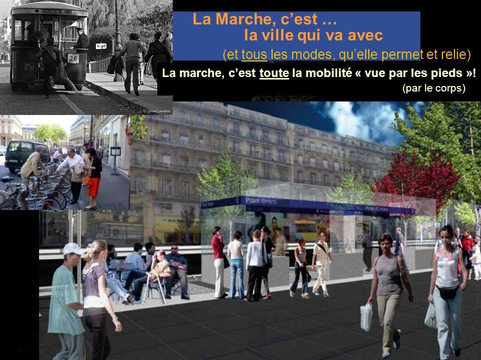 La Marche, c'est … la ville qui va avec