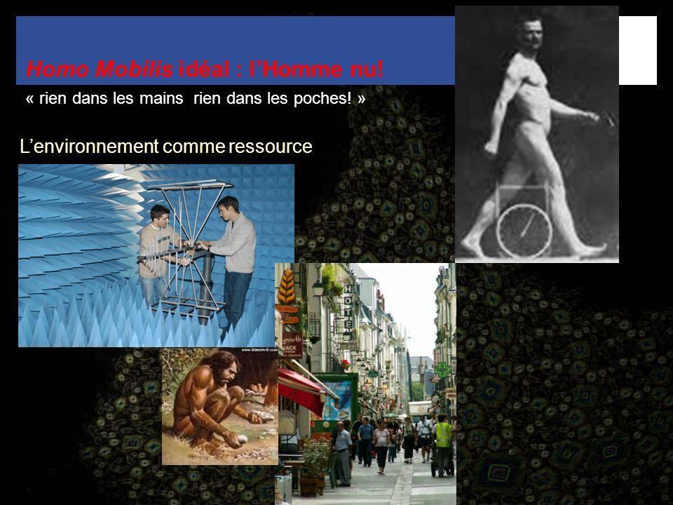 Homo Mobilis idéal : l'Homme nu!