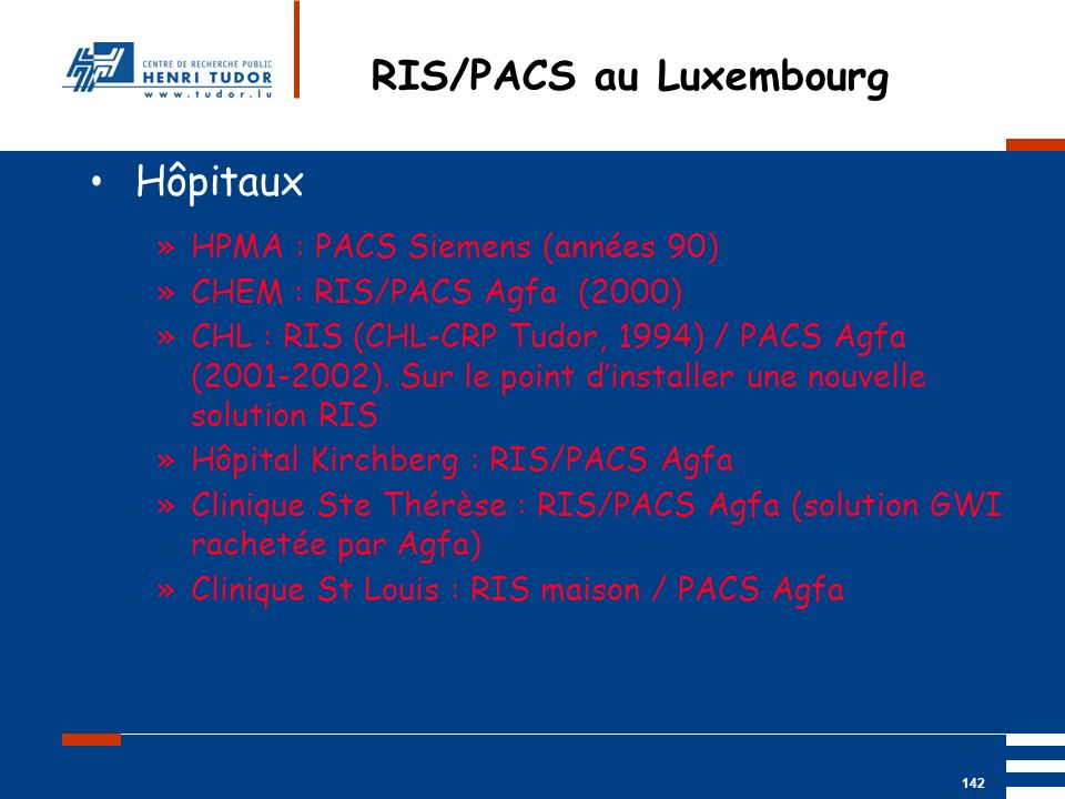 RIS/PACS au Luxembourg