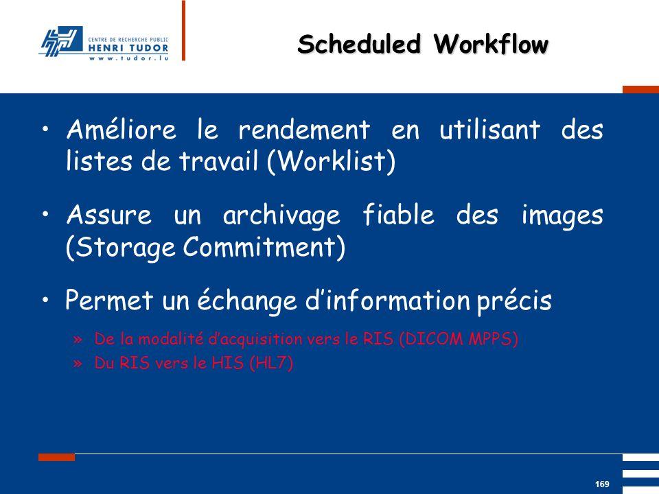 Améliore le rendement en utilisant des listes de travail (Worklist)