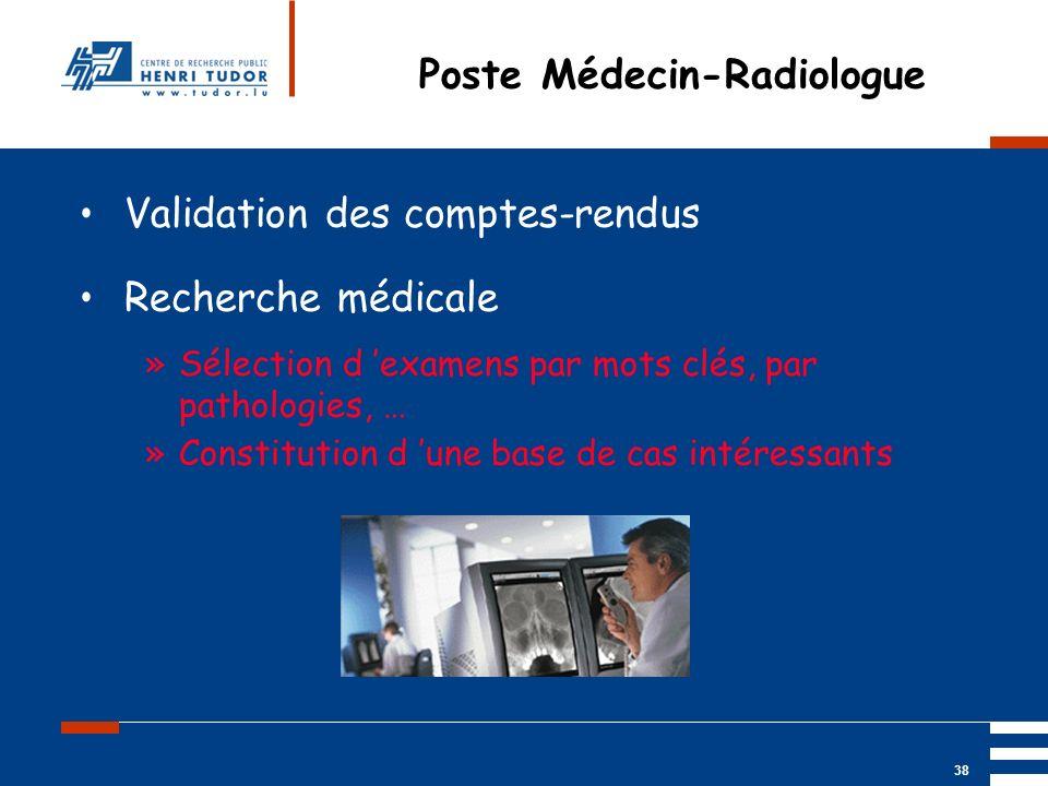 Poste Médecin-Radiologue