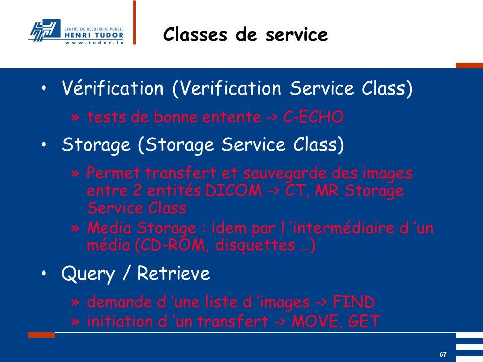 Vérification (Verification Service Class)
