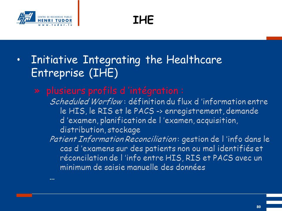Initiative Integrating the Healthcare Entreprise (IHE)