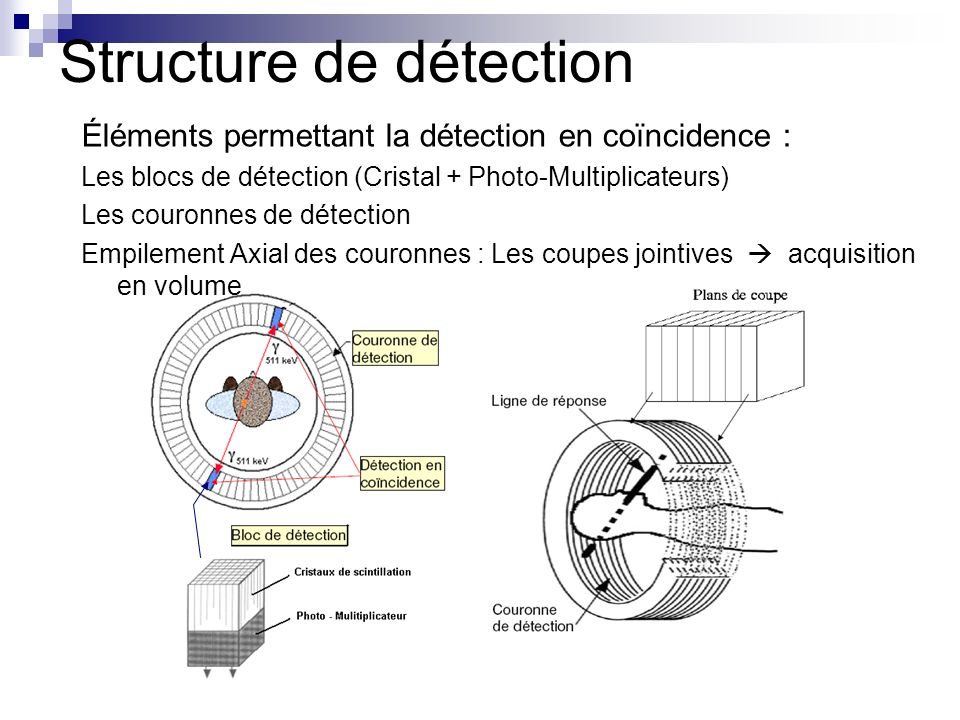 Structure de détection
