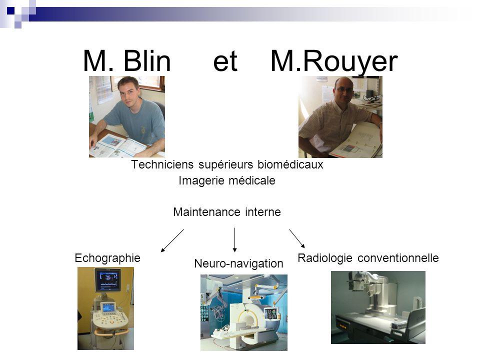 Techniciens supérieurs biomédicaux