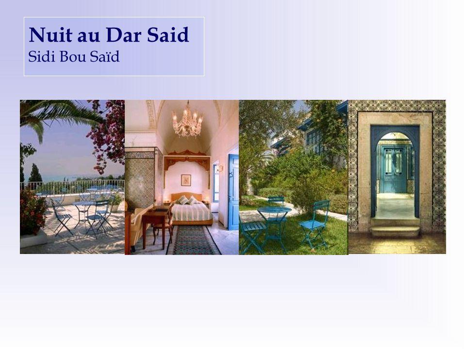 Nuit au Dar Said Sidi Bou Saïd