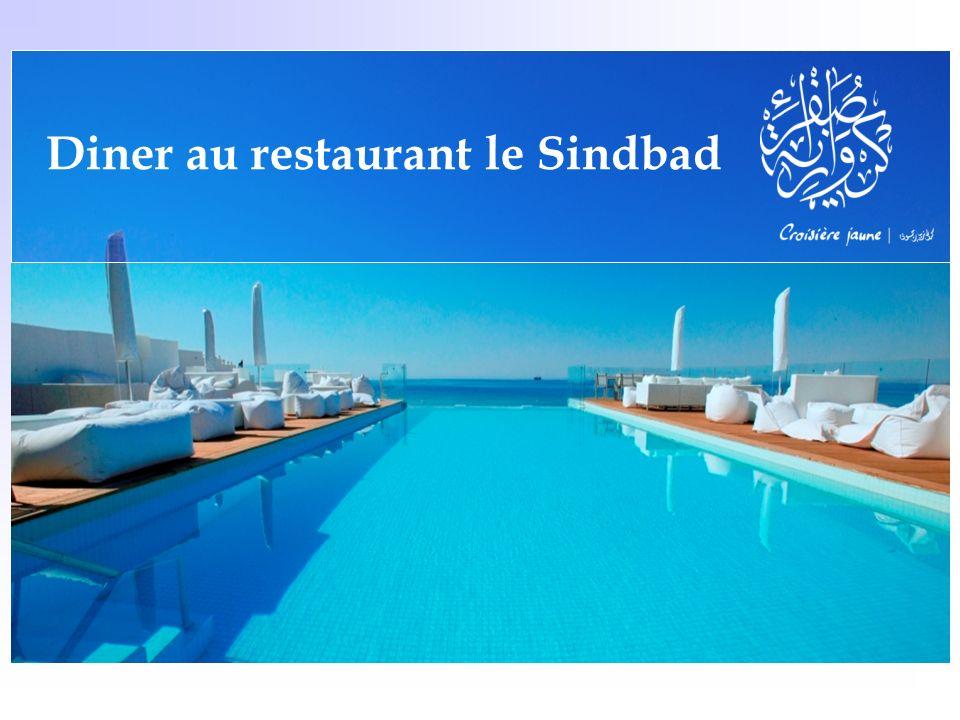 Diner au restaurant le Sindbad