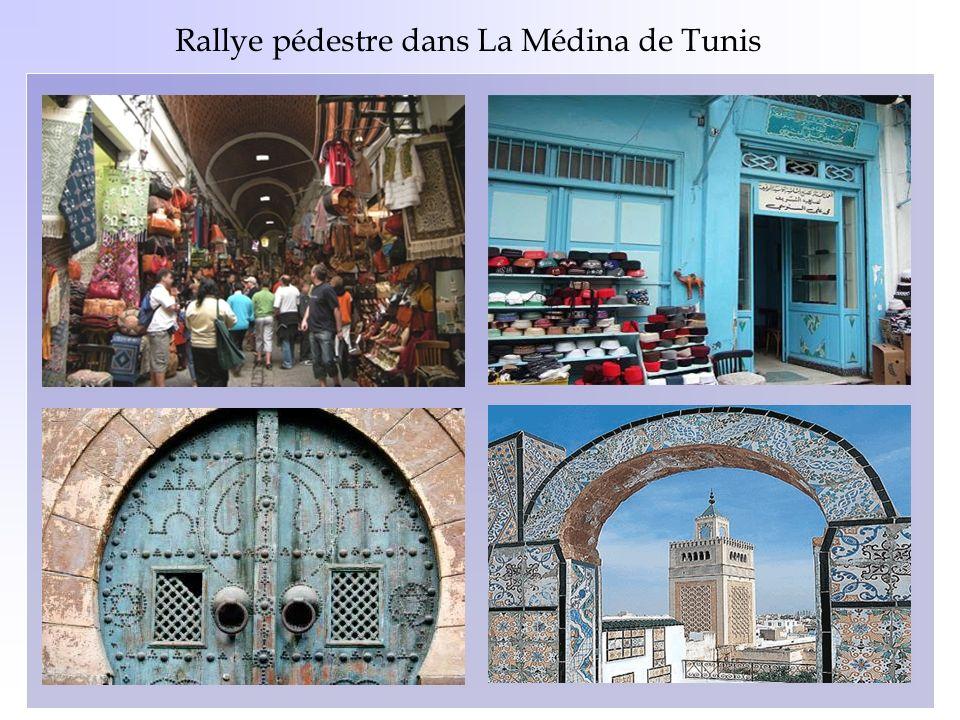 Rallye pédestre dans La Médina de Tunis
