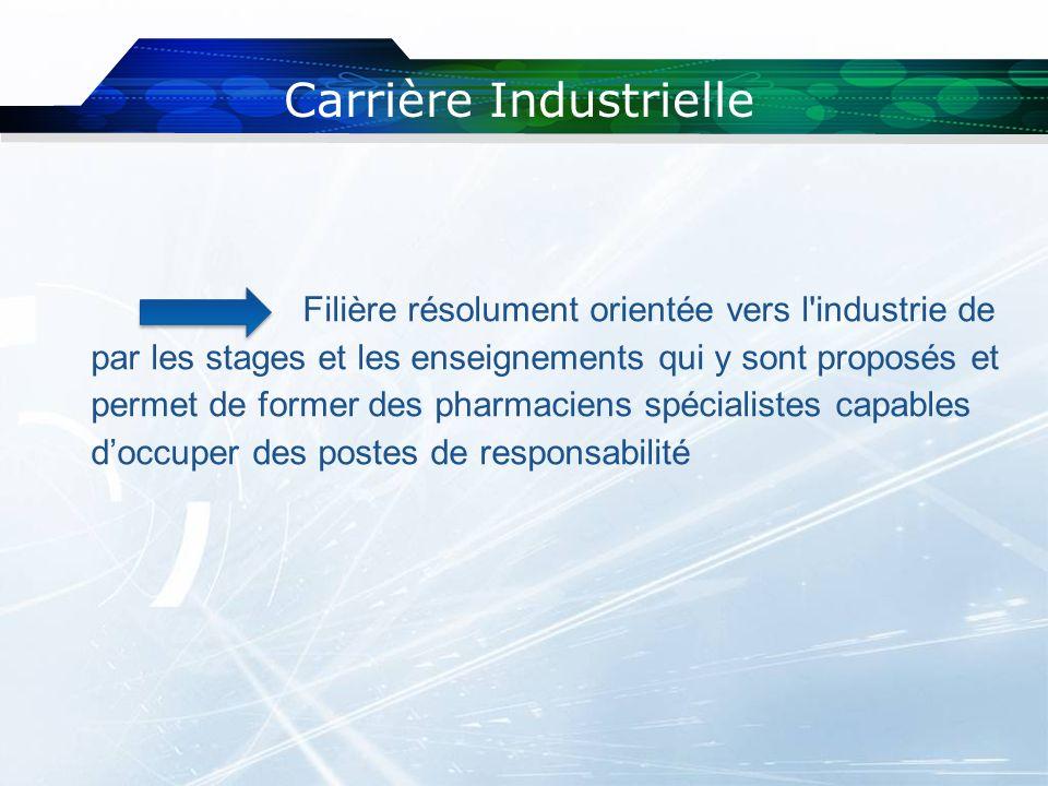 Carrière Industrielle