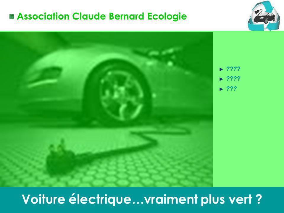 Voiture électrique…vraiment plus vert