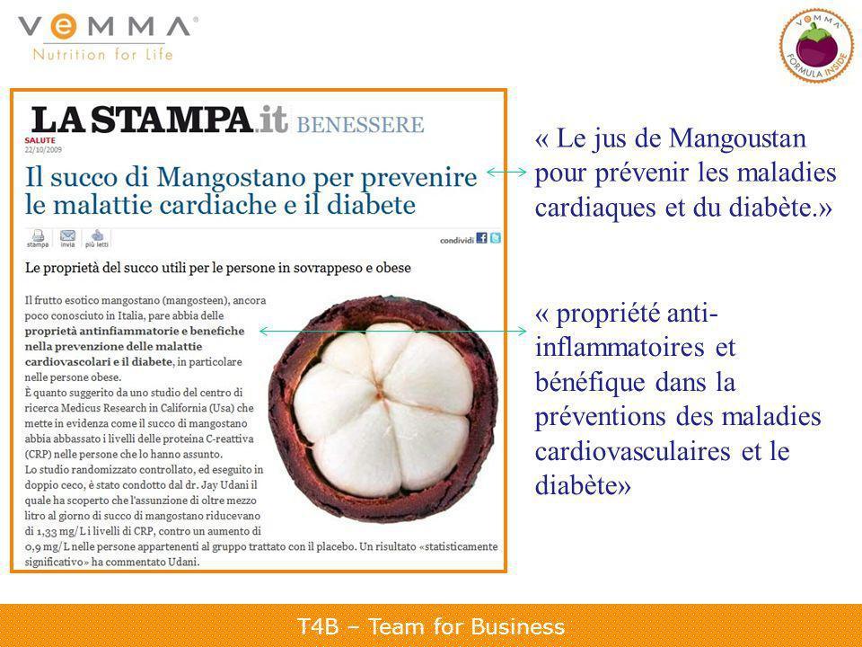 « Le jus de Mangoustan pour prévenir les maladies cardiaques et du diabète.»