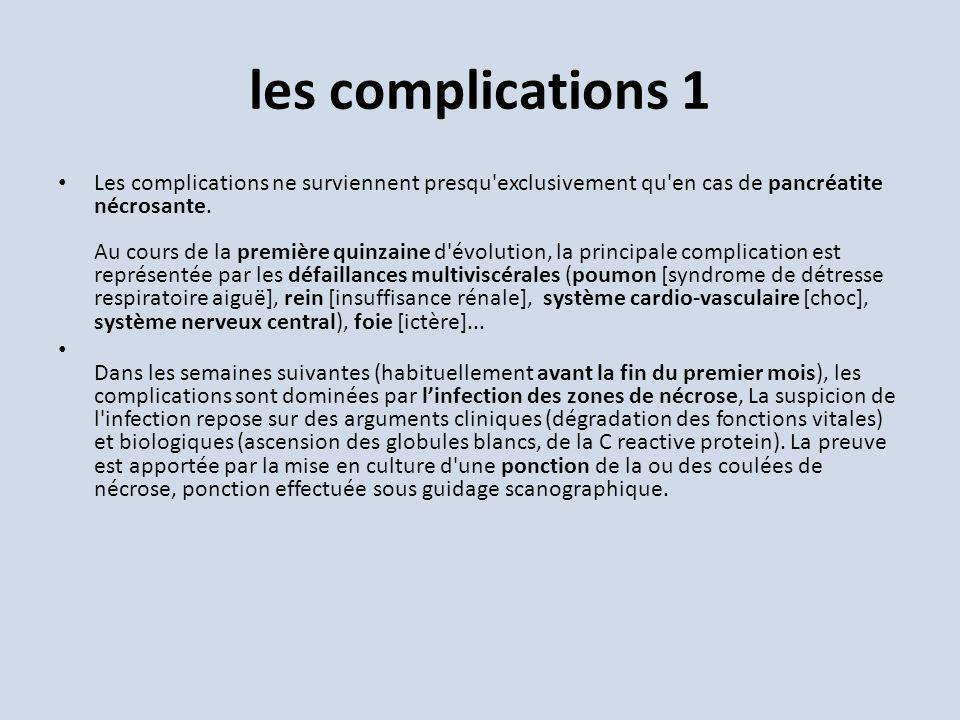 les complications 1