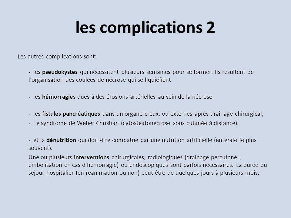 les complications 2
